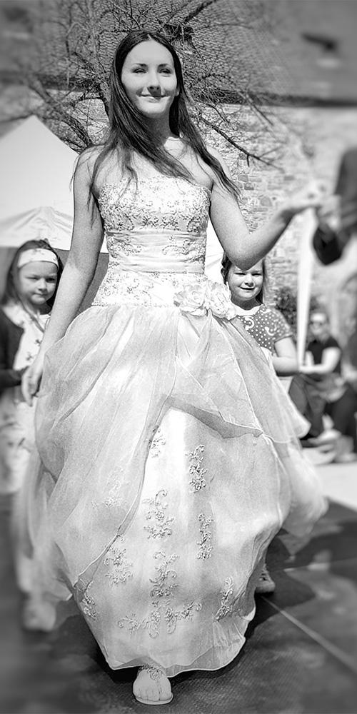 modenschau Brautmode